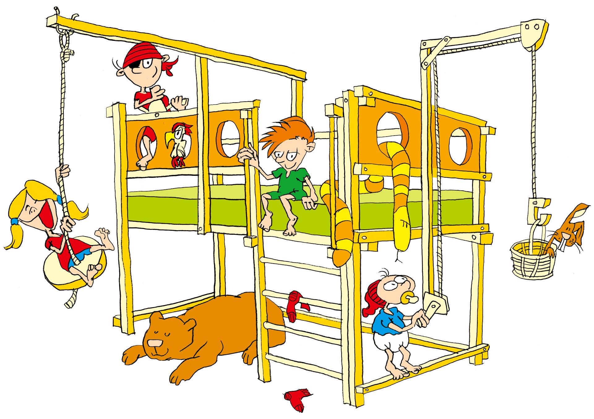 Kinderbett dachschrage m bel ideen innenarchitektur - Kinderbett unter dachschrage ...
