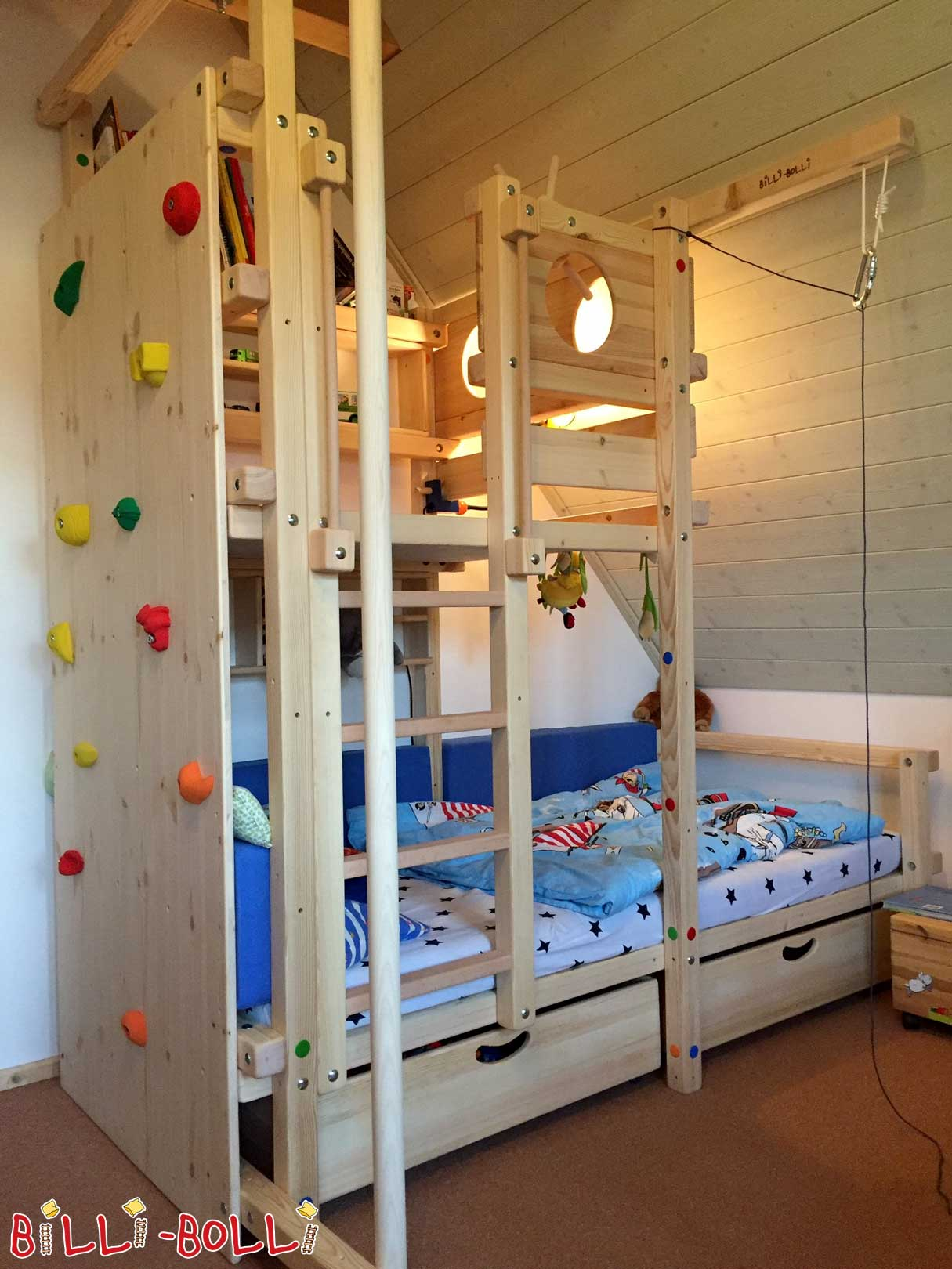 kletterwand f r kinderzimmer swalif. Black Bedroom Furniture Sets. Home Design Ideas