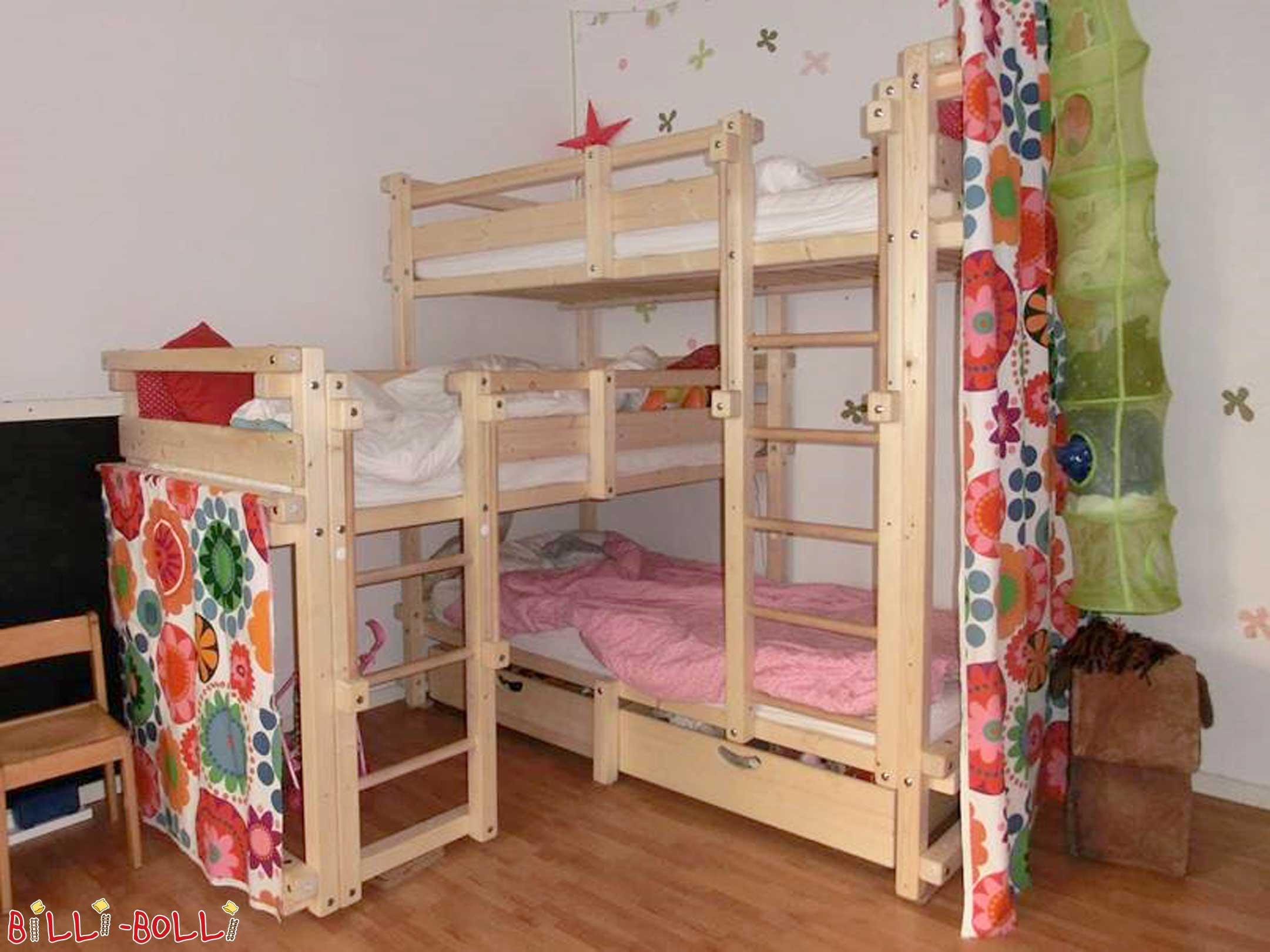 Etagenbett Drei Betten : Kinderbabybett etagenbett für drei personen