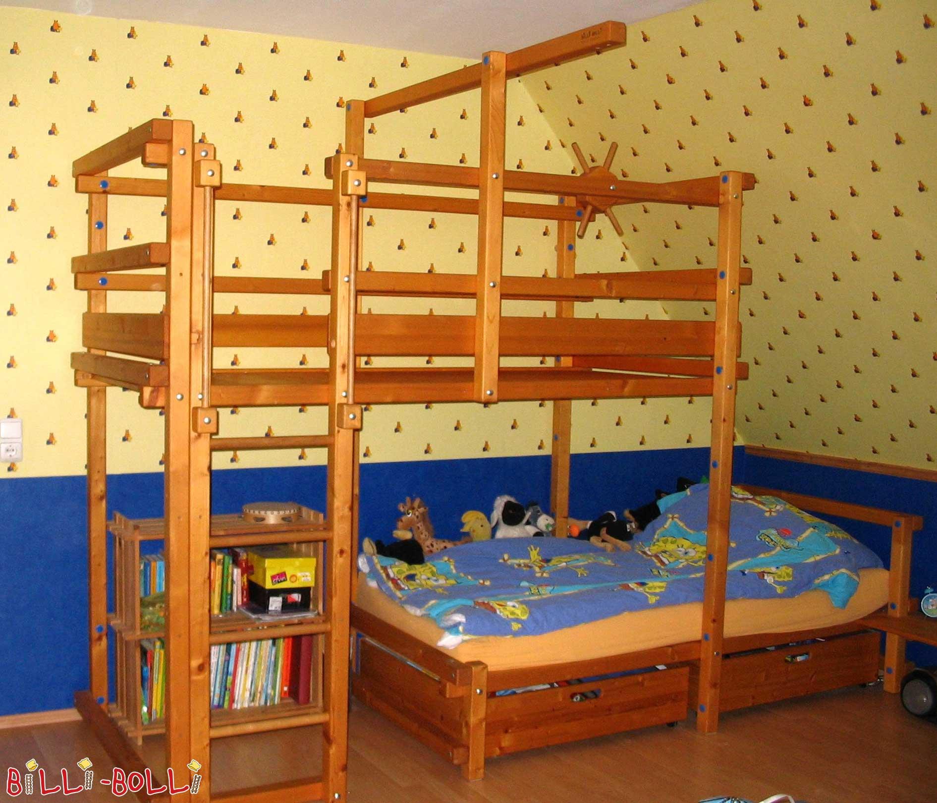 Letto A Castello Basso Per Bambini.Letto A Castello A Sbalzo