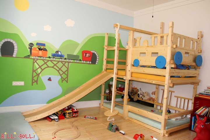 Etagenbett Umbaubar In 2 Einzelbetten : Kinderbetten hochbetten und etagenbetten von billi bolli