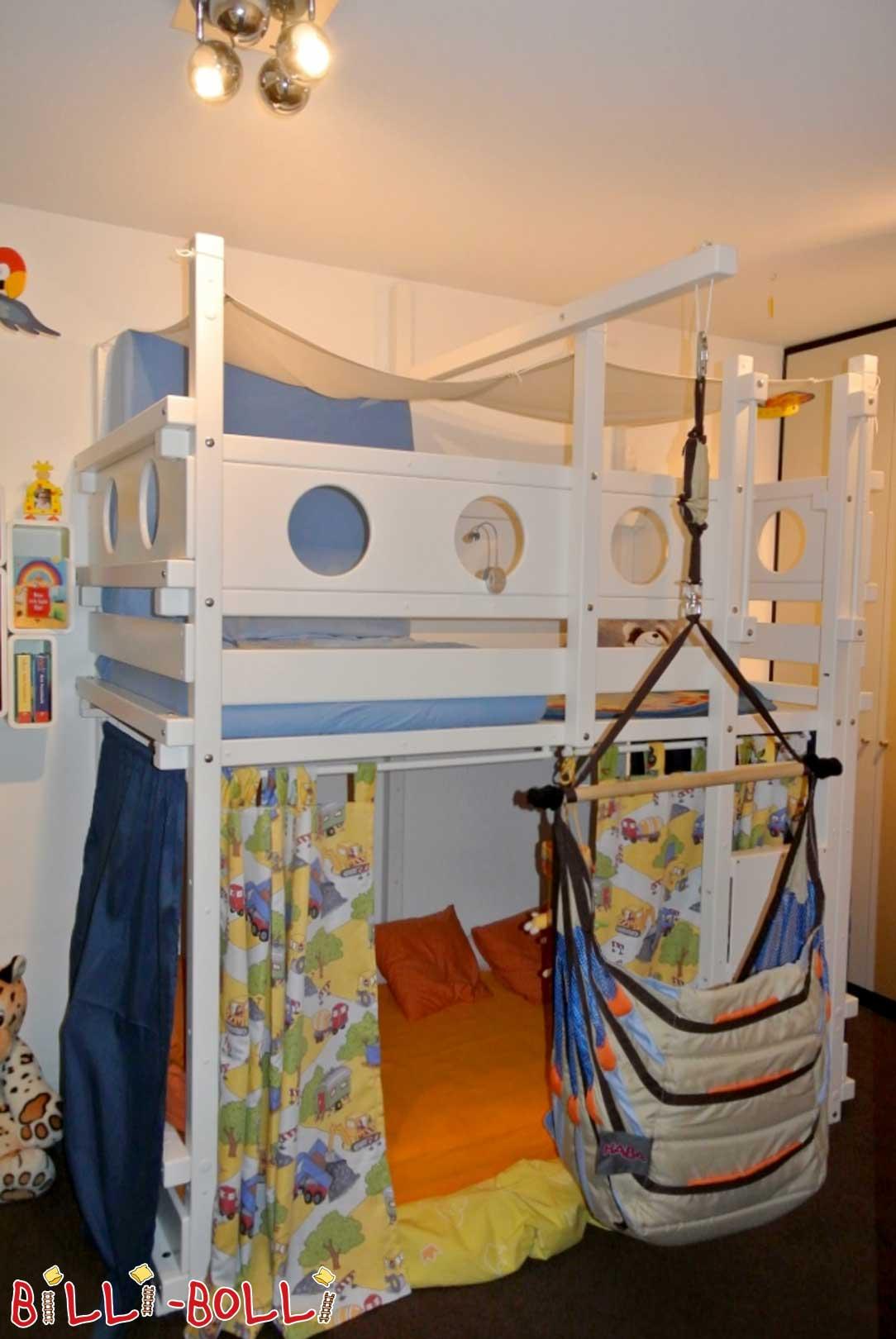 hochbett mitwachsend f r kinder online kaufen billi bolli. Black Bedroom Furniture Sets. Home Design Ideas