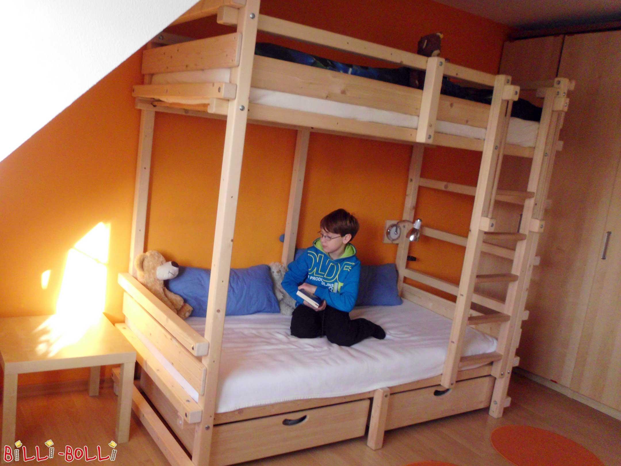 jugendbett etage billi bolli kinderm bel. Black Bedroom Furniture Sets. Home Design Ideas