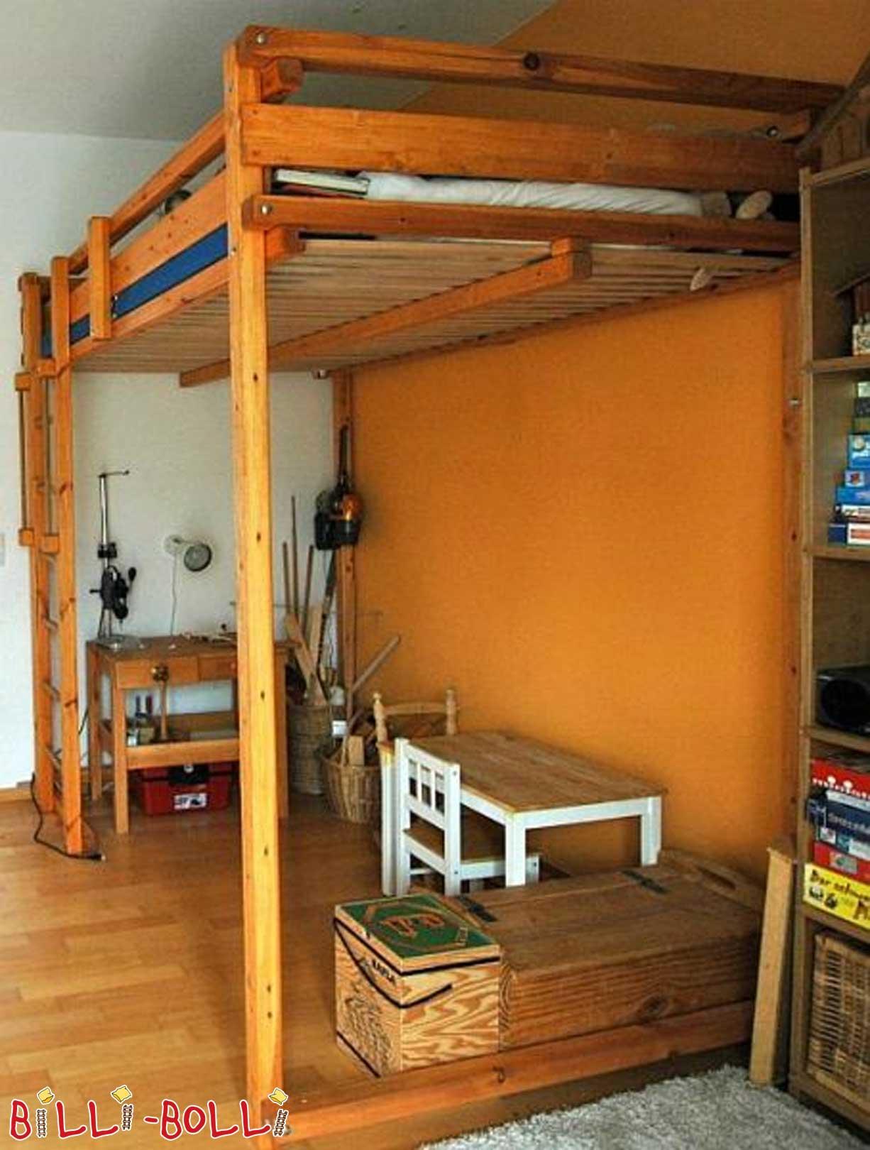 hochbett f r studenten online kaufen billi bolli. Black Bedroom Furniture Sets. Home Design Ideas