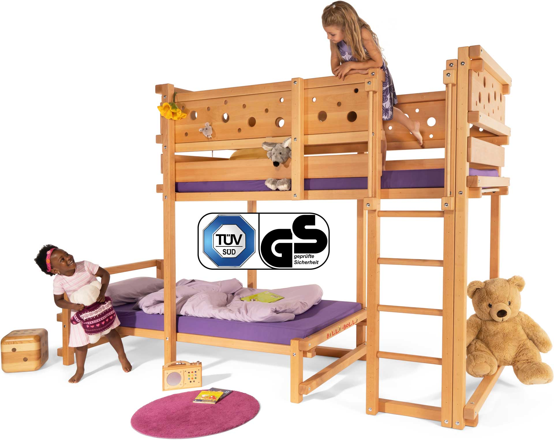 kinderbett hochbett oder etagenbett kinderm bel von. Black Bedroom Furniture Sets. Home Design Ideas