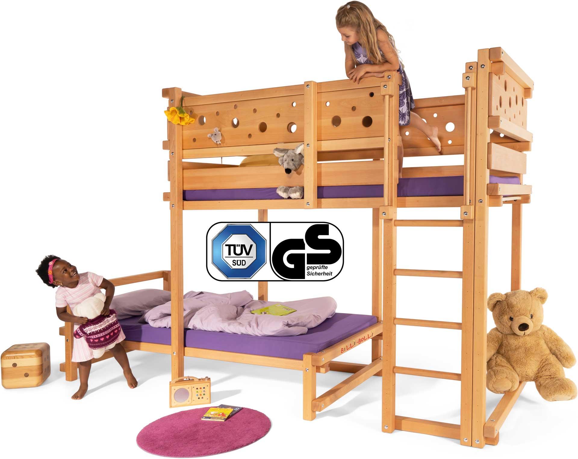Hochbetten und Etagenbetten für Kinder von Billi-Bolli