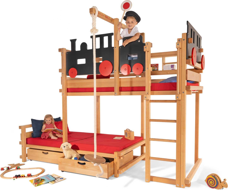 hochbett ab wann wie hoch und welches kleine und gro e kinder das rabendorf. Black Bedroom Furniture Sets. Home Design Ideas