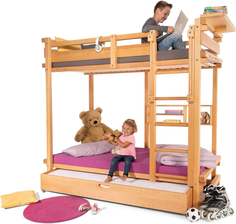 jugendbett etage online kaufen billi bolli kinderm bel. Black Bedroom Furniture Sets. Home Design Ideas