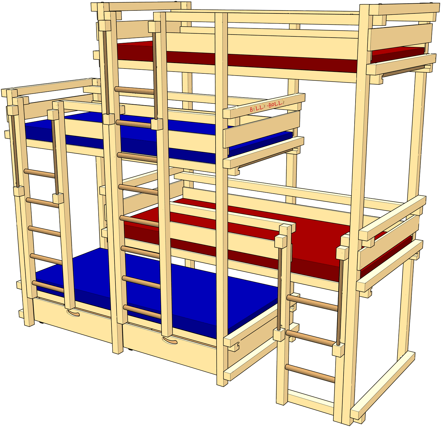 Twin Size Bed Size In Cm