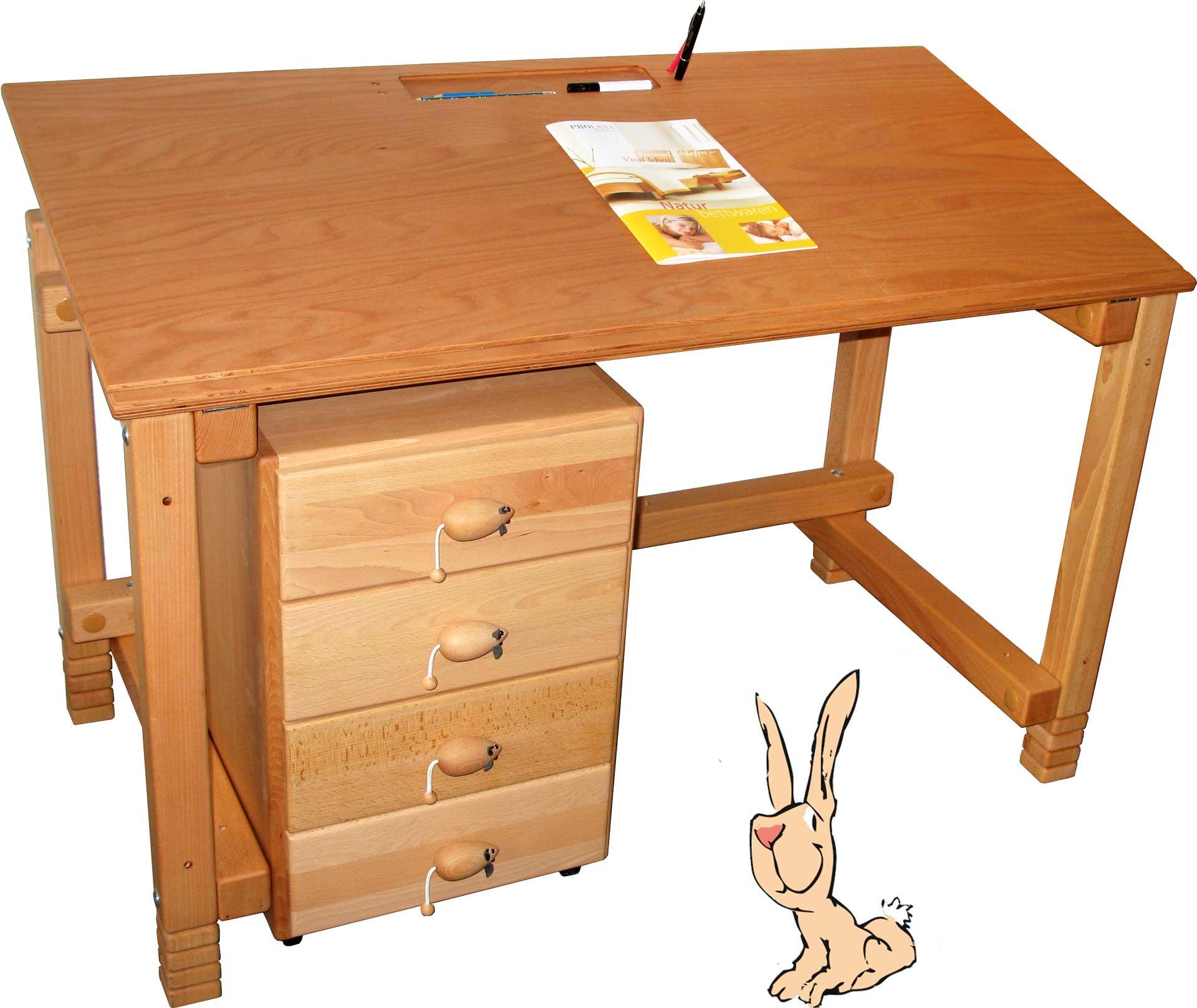 kinderschreib tisch und rollcontainer billi bolli kinderm bel. Black Bedroom Furniture Sets. Home Design Ideas