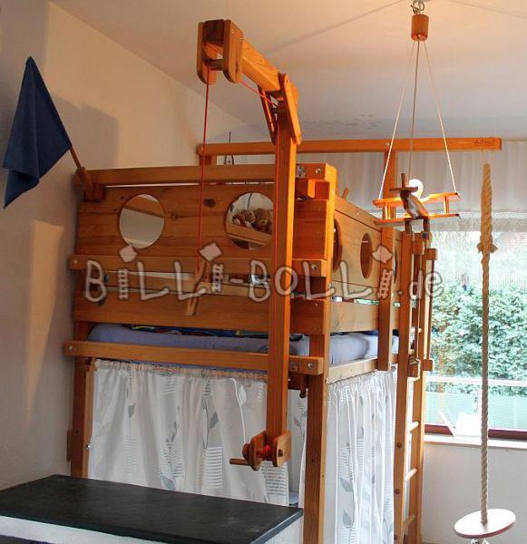 bauanleitung hochbett 90x200 ihr traumhaus ideen. Black Bedroom Furniture Sets. Home Design Ideas