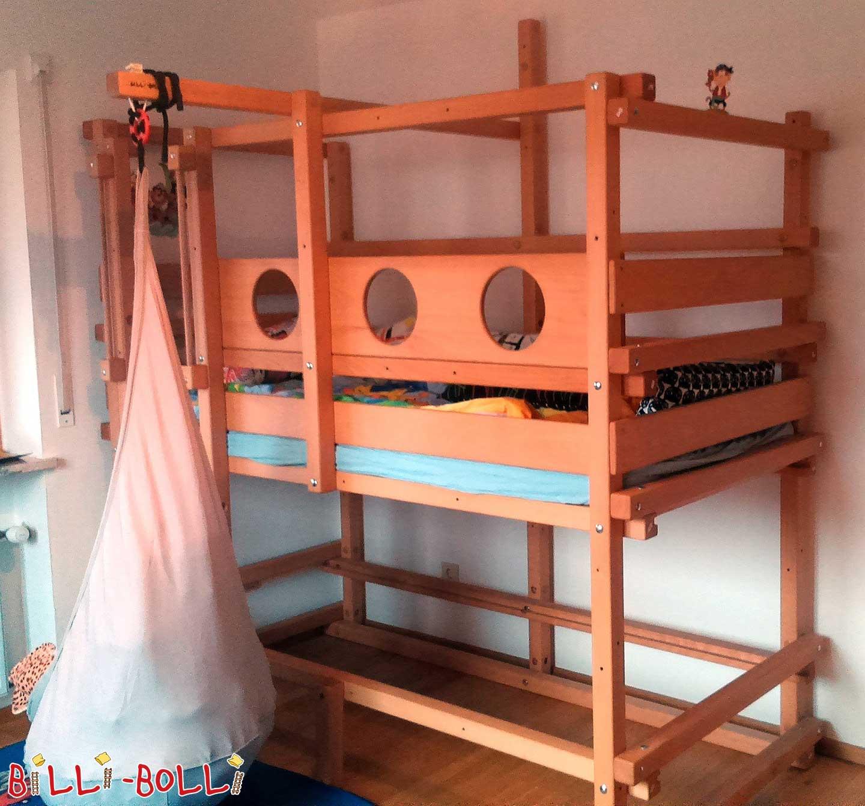 Bett Prakoma Für Dachschräge Aus Buche: Billi-Bolli Kindermöbel