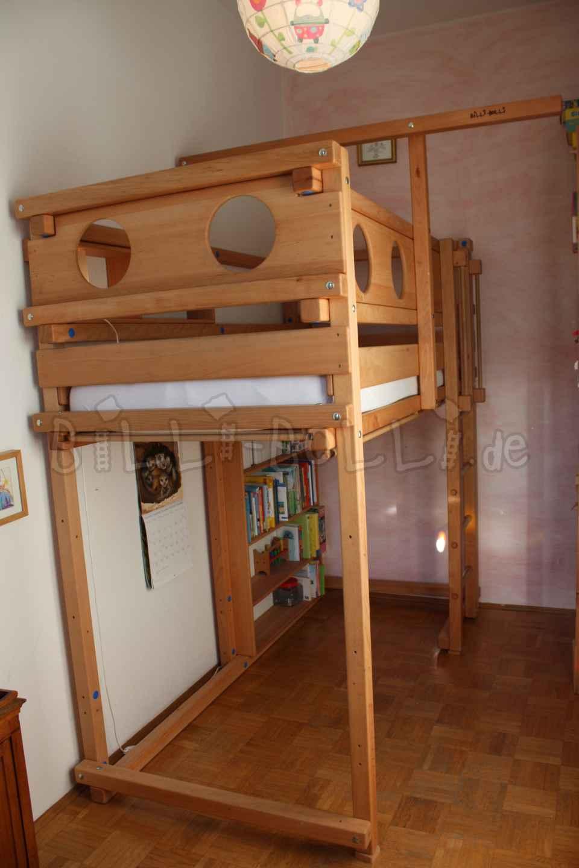 Galant Ikea Conference Table ~ Mitwachsendes Hochbett 90 x 200 cm, Buche geölt gewachst (Hochbett