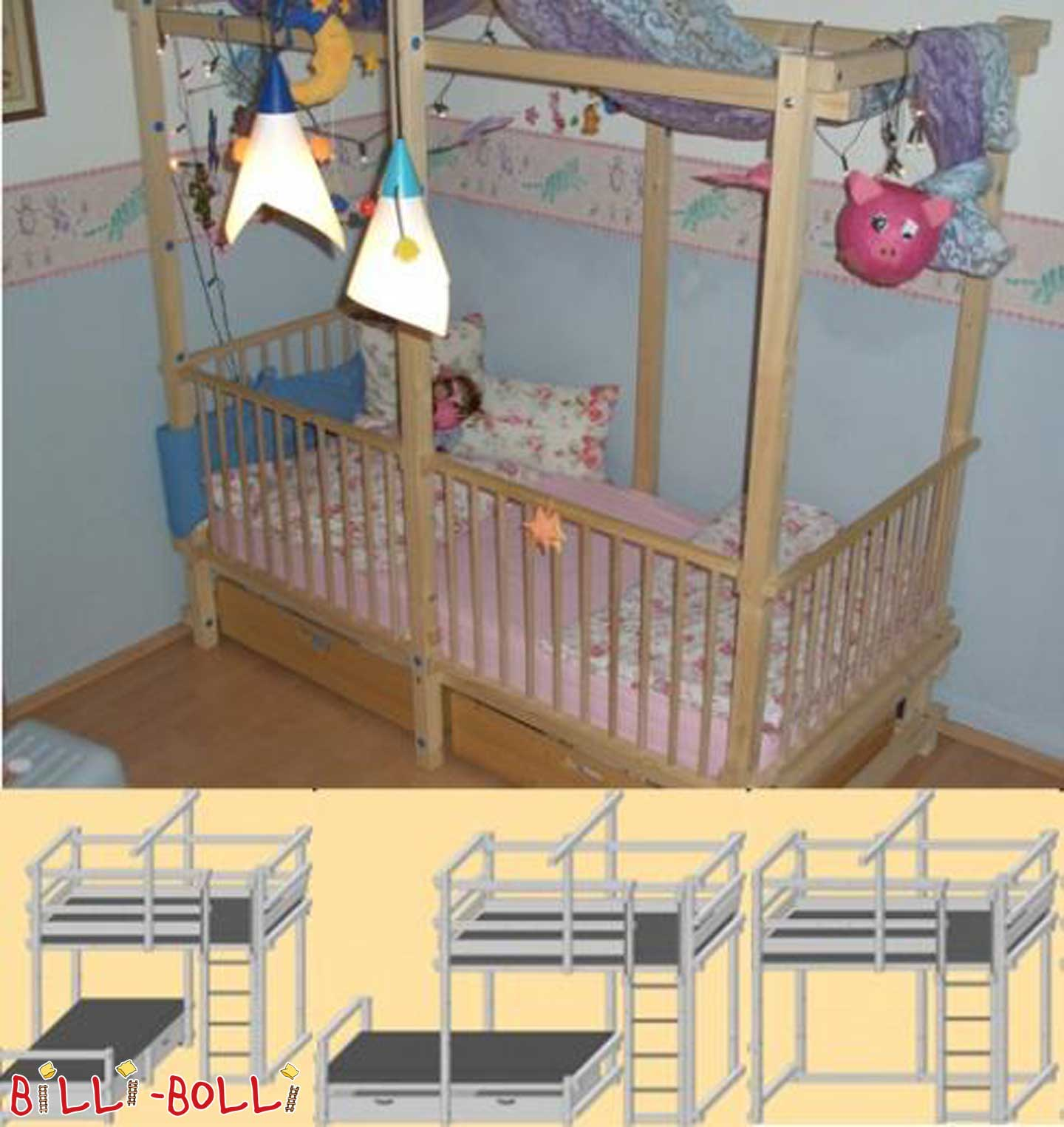 secondhand seite 105 billi bolli kinderm bel. Black Bedroom Furniture Sets. Home Design Ideas